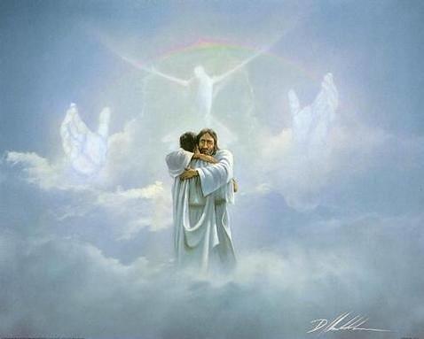 Resultado de imagen para JESUS RECIBE EN EL CIELO
