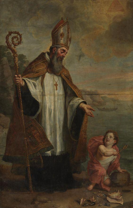 Saint Augustine of Hippo / San Agustín de Hipona // Ca. 1655 // Gaspar de Crayer…